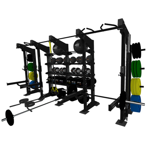4-Module Functional Wall - X1 Package