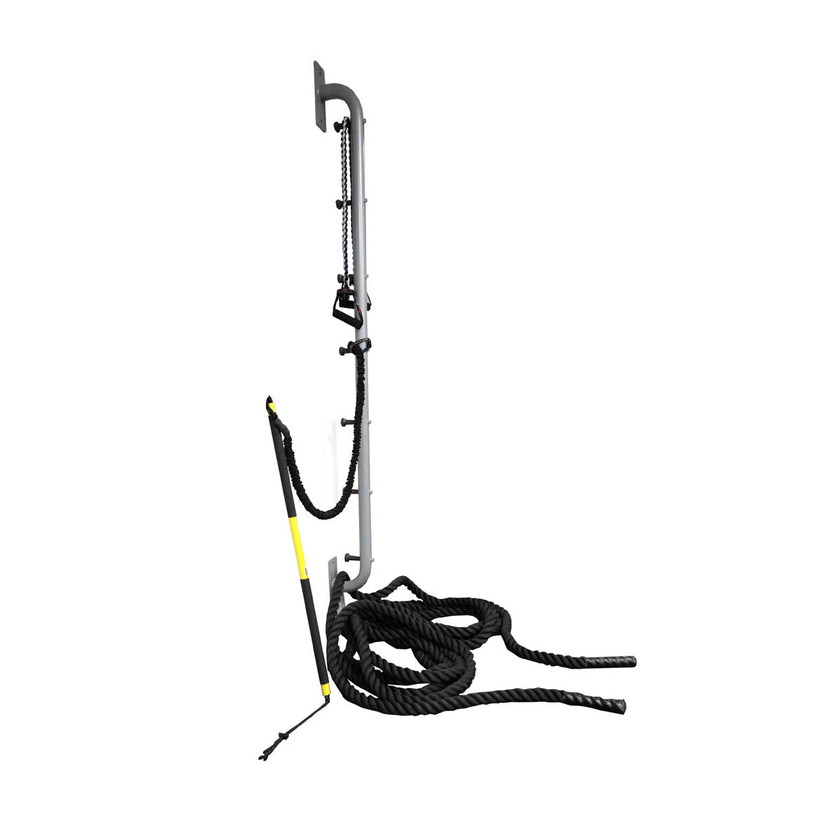 Battle Ropes or Resistance Band Training Wall Mounted Rope Anchor