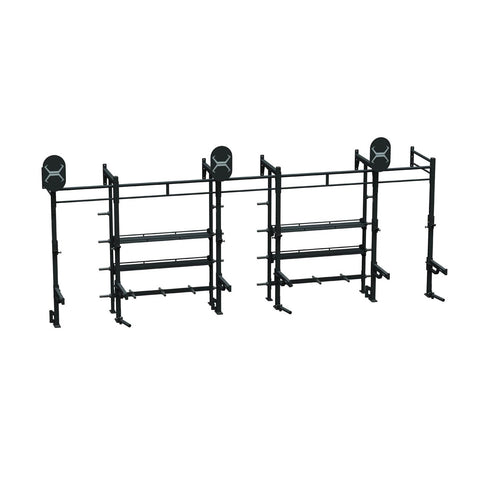 24 X 4 STORAGE WALL MOUNT RACK - A1 PACKAGE