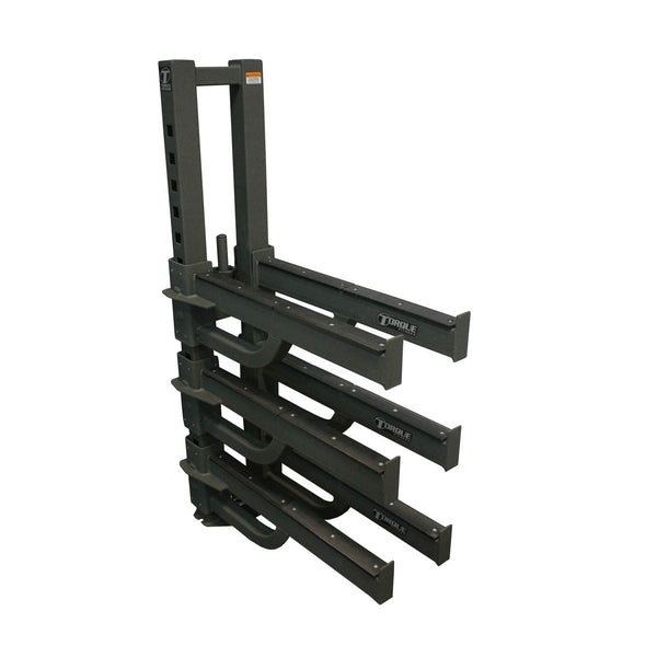 VERTICAL ACCESSORY STORAGE RACK