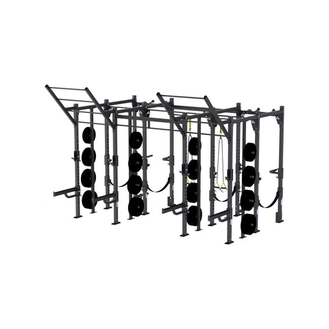 4 X 4 Foot Siege Storage Cable Rack - X1 Package