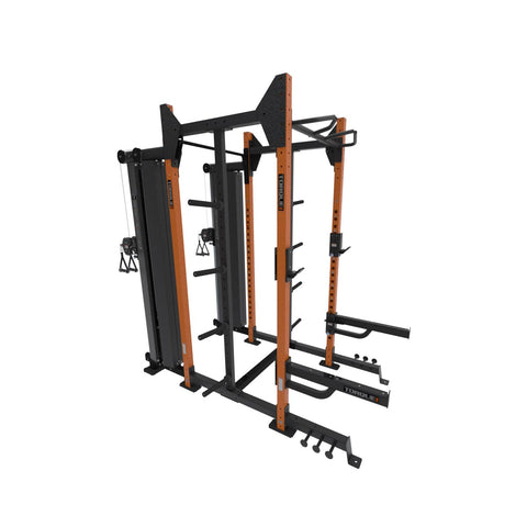 4 x 4 Siege Storage Cable Rack Orange