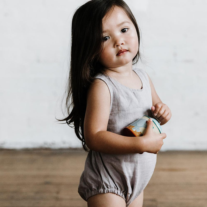 Lindy Klim Goldie Romper Dove Grey