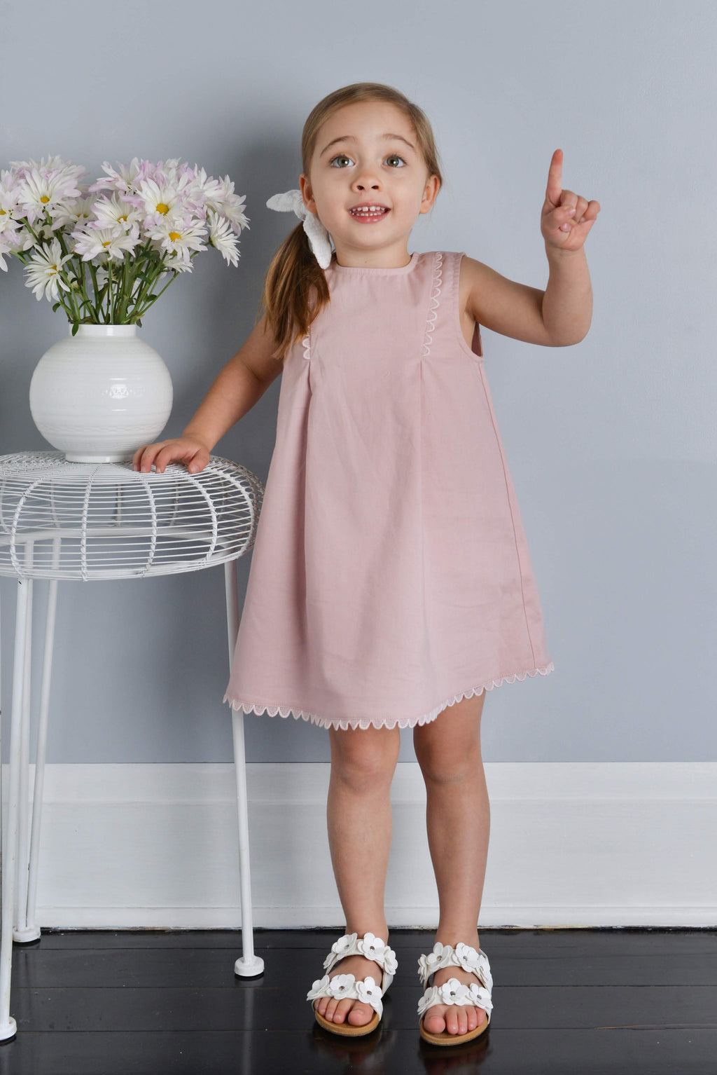 Twinkle Twinkle Dress - Dusty Rose