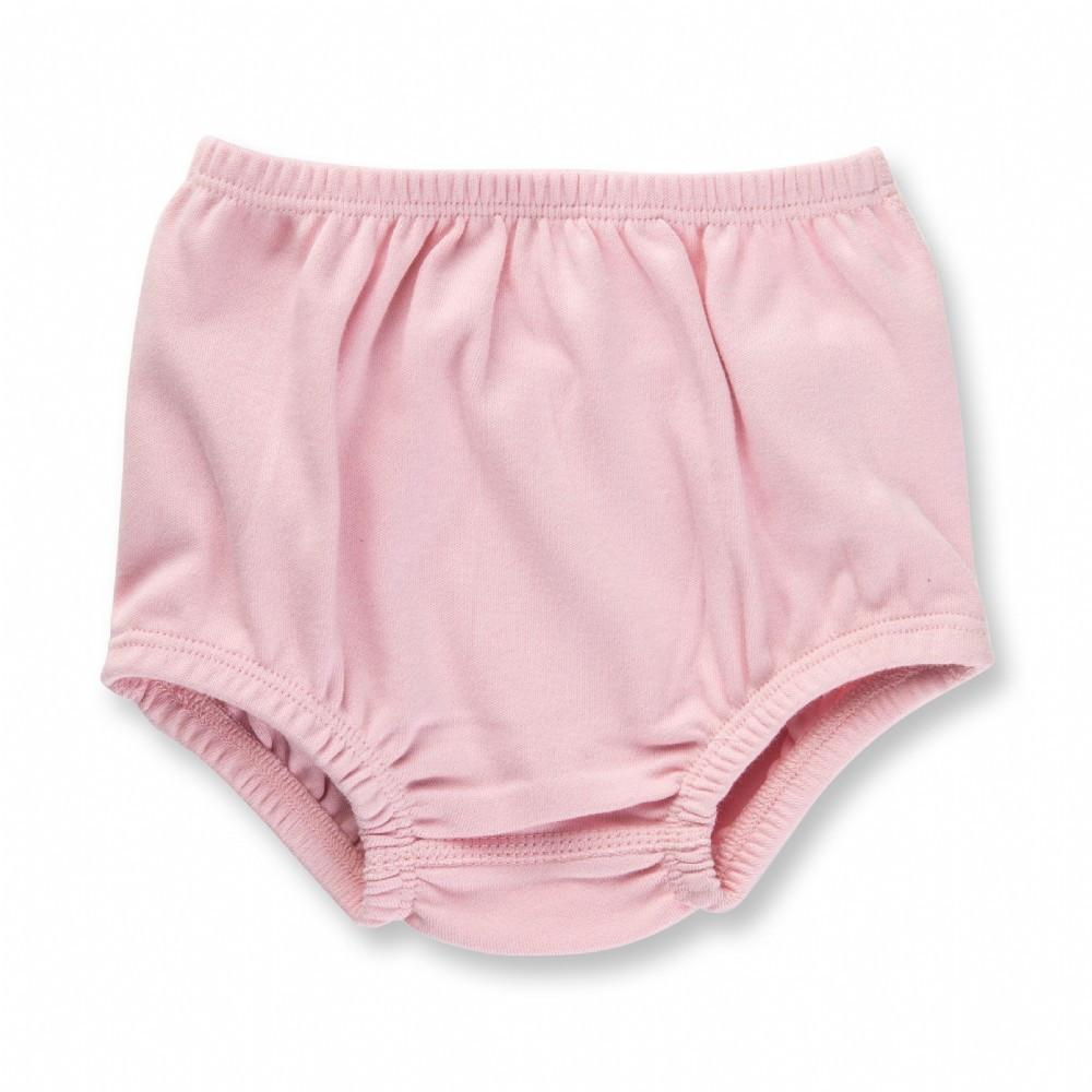 Dusty Pink Heart Bloomers