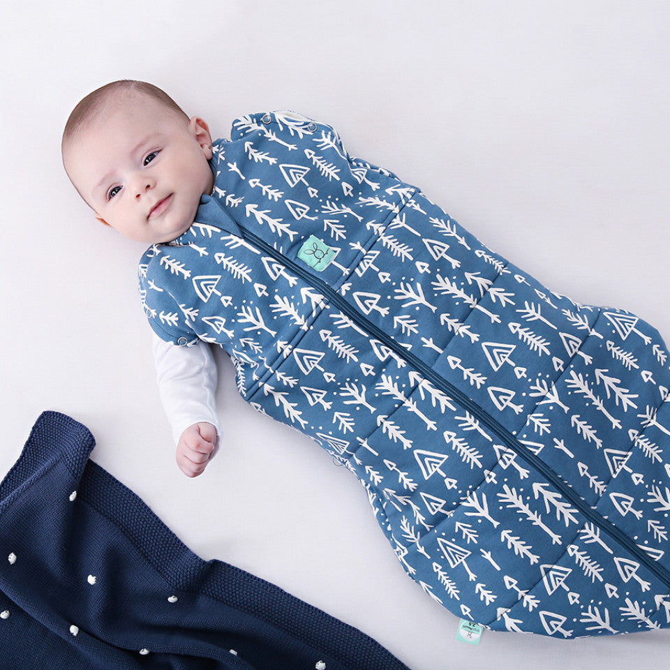 Cocoon Swaddle Bag (2.5 Tog) - Midnight Arrows