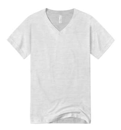 Slim Fit V-Neck Tee (8 Colors)