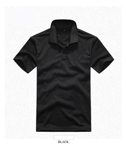 Classic Anti-Wrinkle Single Color Cotton Polo (9 Colors)