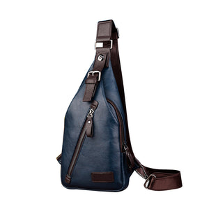 Casual Leather Shoulder Bag (2 colors)