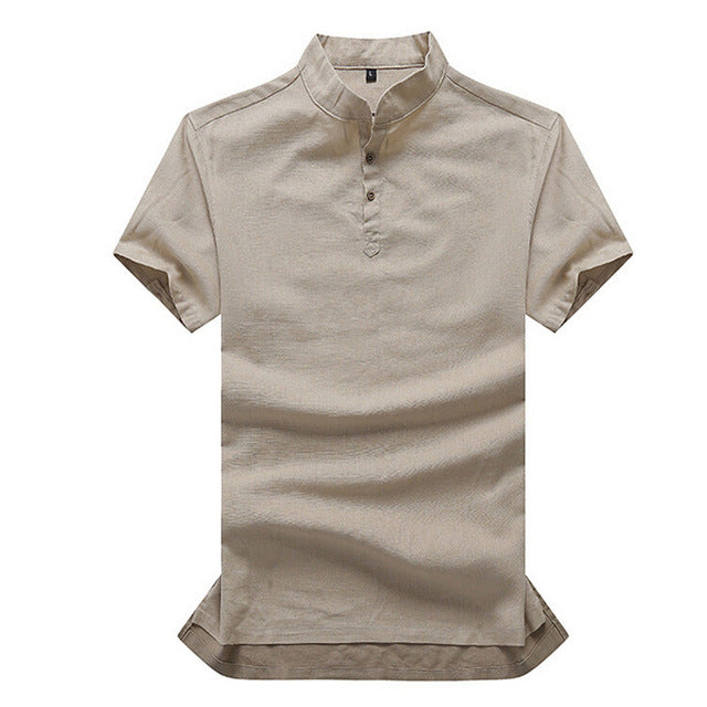 Linen Polo (5 Colors)