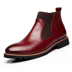 Classic Leather Chelsea Boots (3 colors)