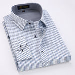 Small Checkered Plaid Dress Shirt