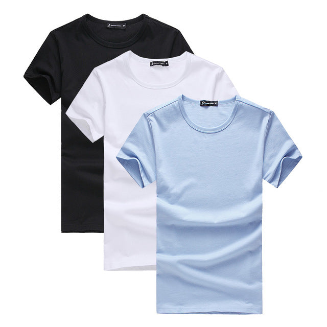 3 Pack 100% Premium Cotton Tee (9 Variants)