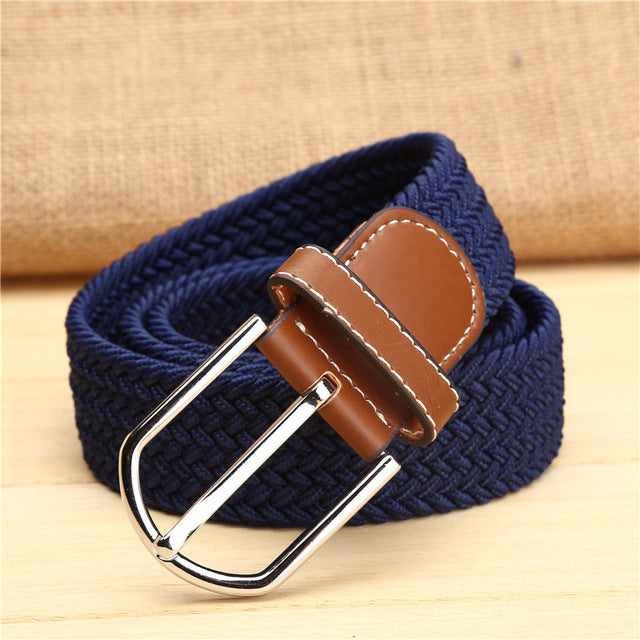 Knitted Canvas Summer Belt (9 Colors)