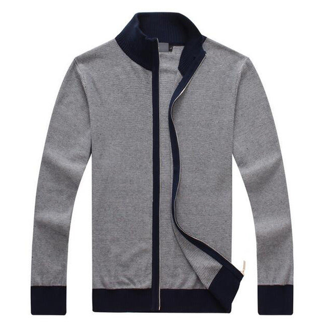 Casual Cotton Zip-Up (3 Colors)