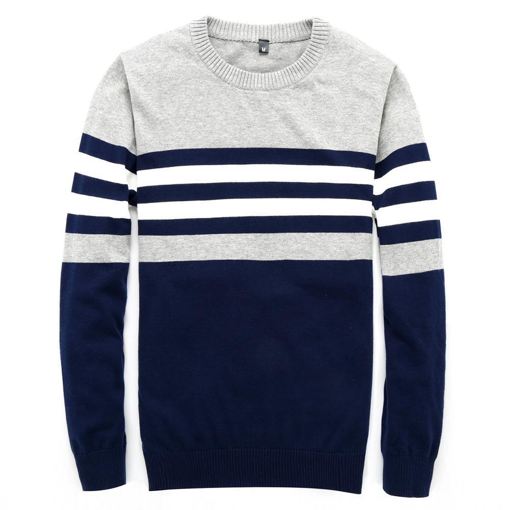 Knit Wool Rugby Crew Neck (4 Colors)