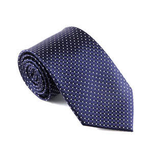 Necktie - Navy/Dots