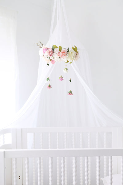Baby nursery Wildflower mobile