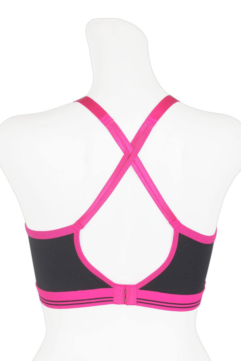 Ladies nylon sports bra