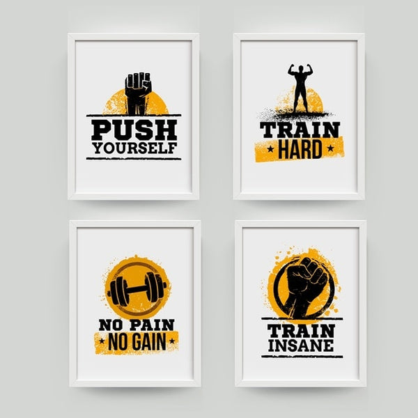 Gym Art - Workout Motivation