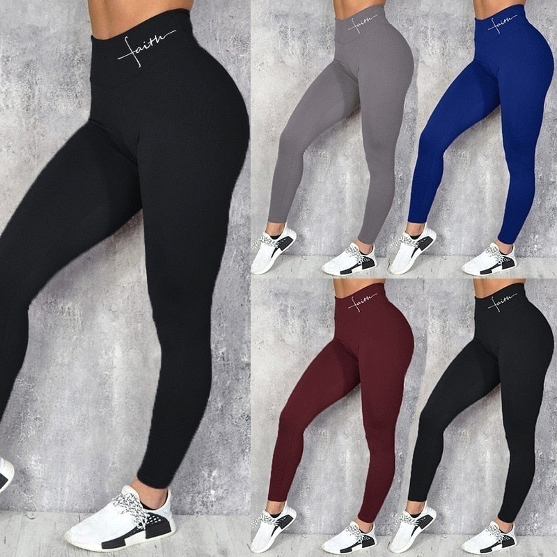 High Waist Leggings Fitness Clothes Slim Ruched Bodybuilding Women's Pants Athleisure Pants
