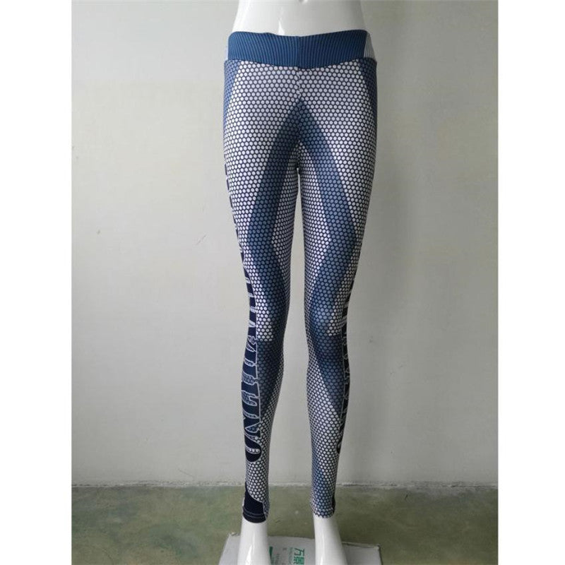 Fitness Sports Elastic Pants