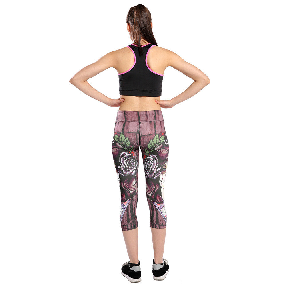 Sports Cropped Leggings