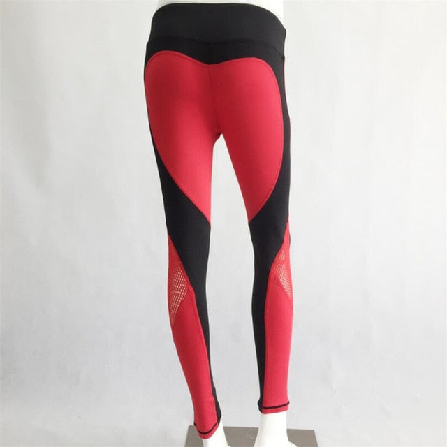 High Waist Heart Legging