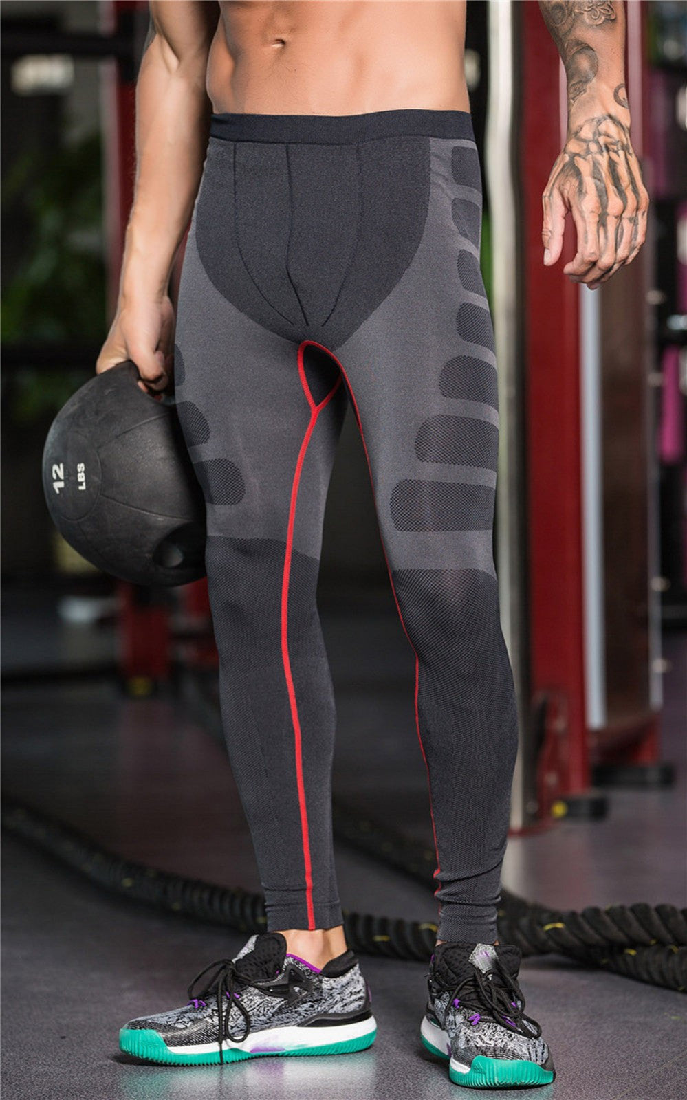 Sports Elastic Tights Trousers