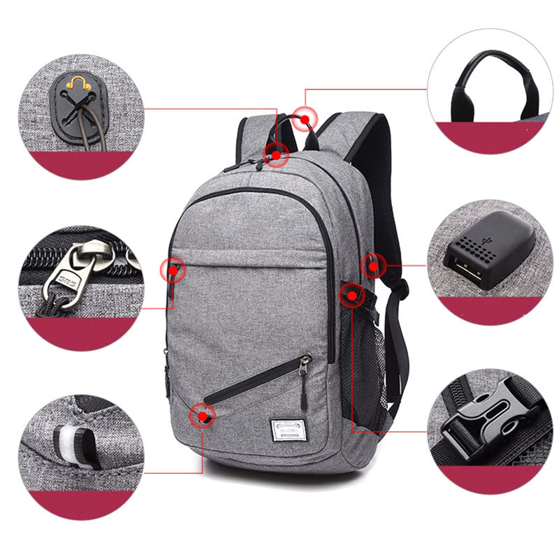 Sport Backpack With Ball Net
