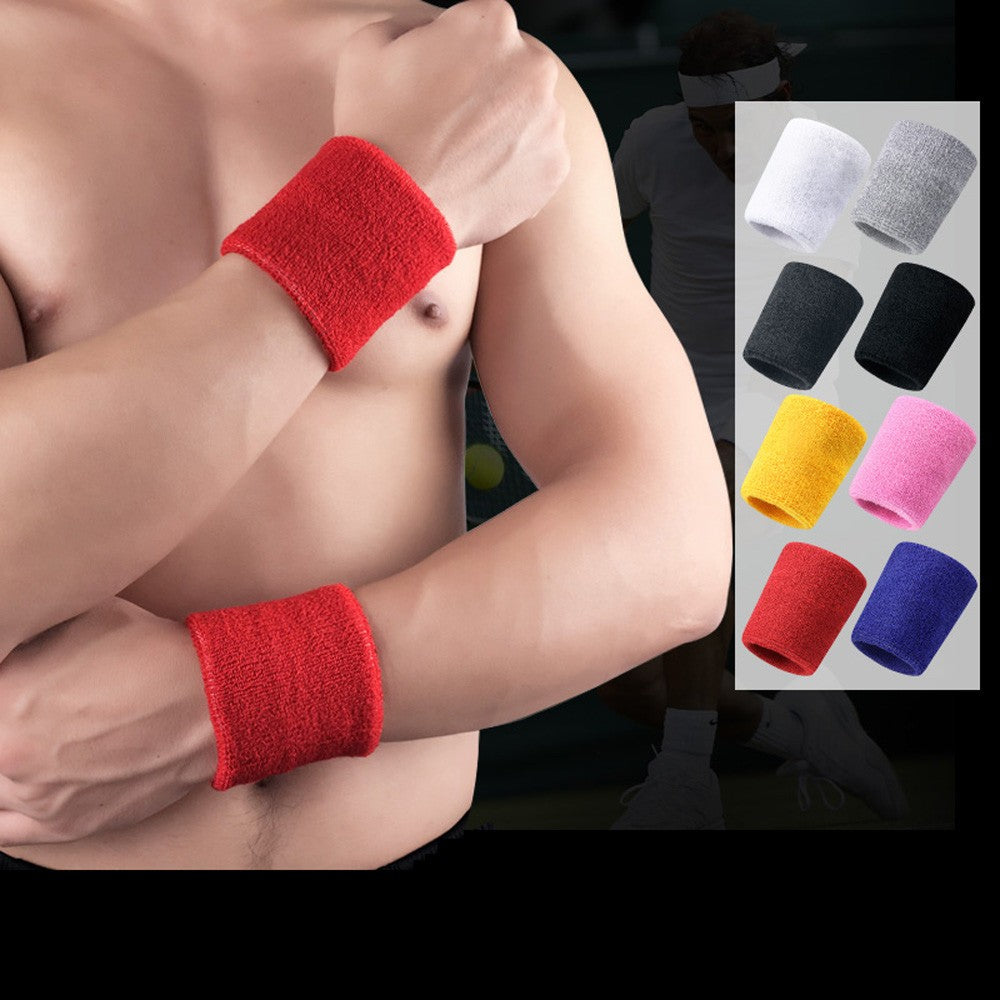 Cotton Sweat Sports Wristband