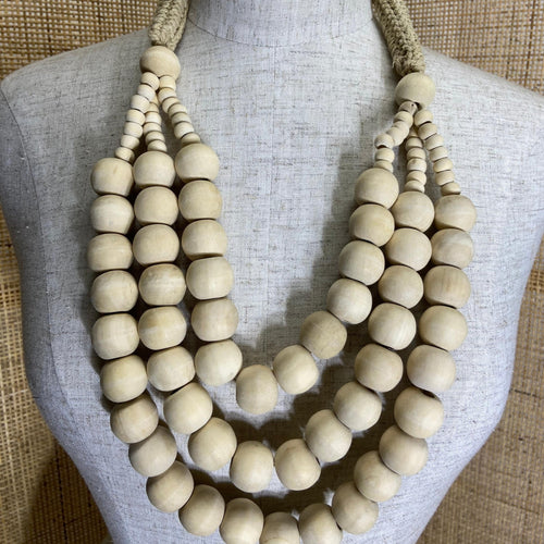Bahati Necklace - Natural