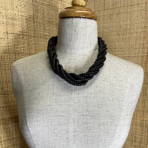 Ama Necklace - Ebony
