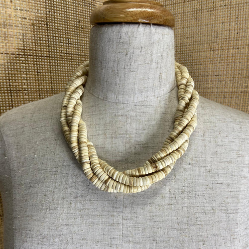 Ama Necklace - Ivory