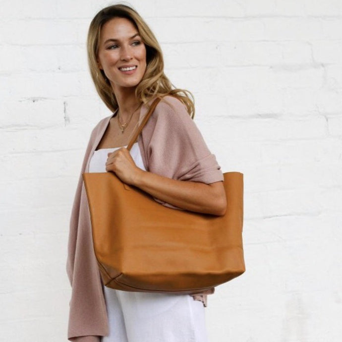 Mila Tote Bag Tan