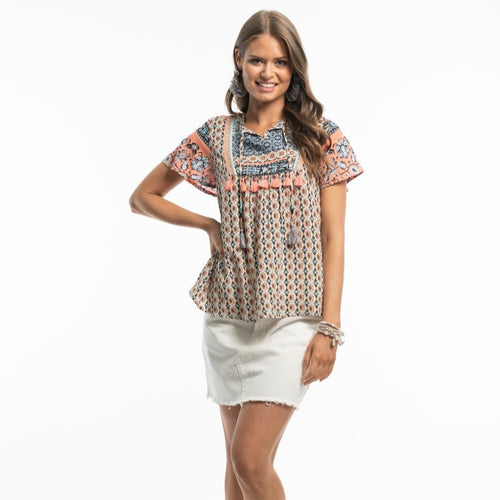 Maria Top/sleeved