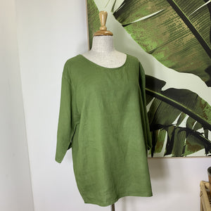 Principessa Top / Forest Green