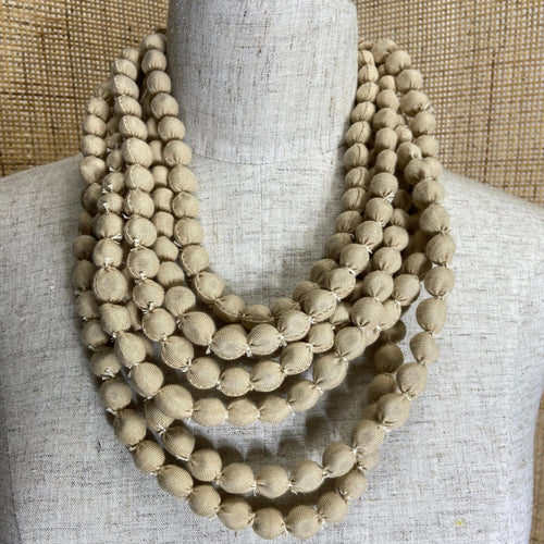 Isabis Necklace - Natural