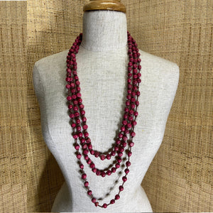 Aponi Necklace - Berry