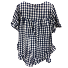 Lindsay check top navy