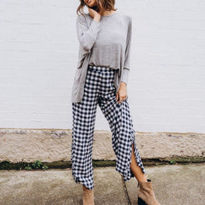 Georgie gingham pants