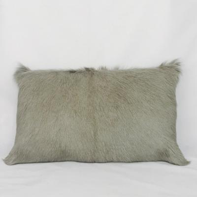 Goat Hide Rectangle Cushion