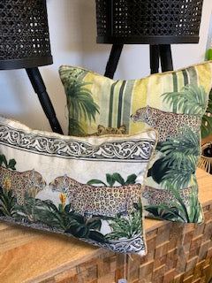 Jungle Leopard Cushion - 35X45CM