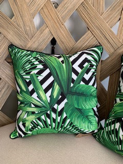 Palm Frond Cushion