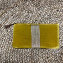 Gold and Velet Clutch