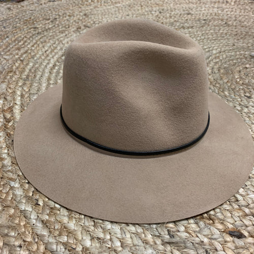 Wool Felt Hat - Camel