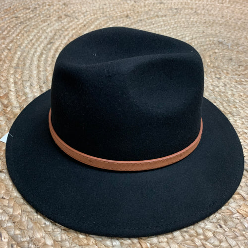 Wool Hat - Black
