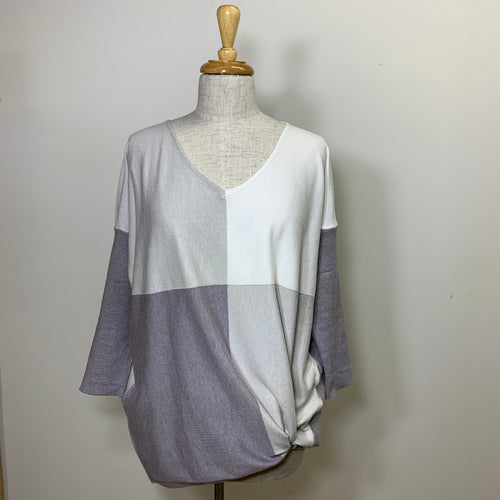 Love Lily Knit - Grey