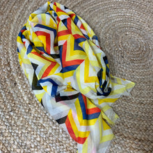 Striped Scarf - Yellow