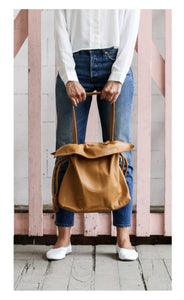 Trieste Tote Bag Tan